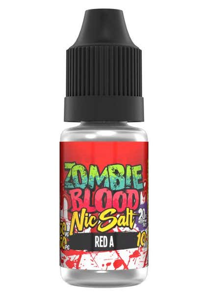 Red A Nicotine Salt by Zombie Blood