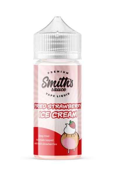 Fried Strawberry Ice Cream Shortfill by Smiths Sauce