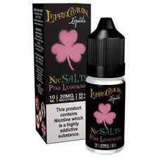 Pink Lemonade Nicotine Salt by Leprechaun