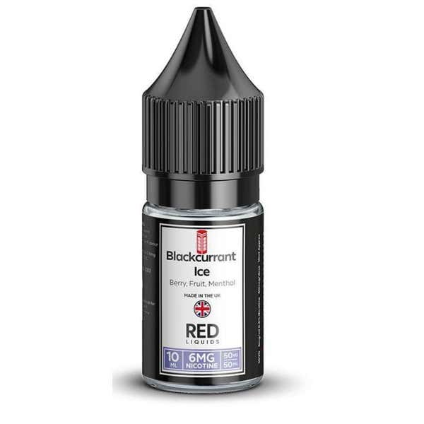 Blackcurrant Ice Regular 10ml by RED