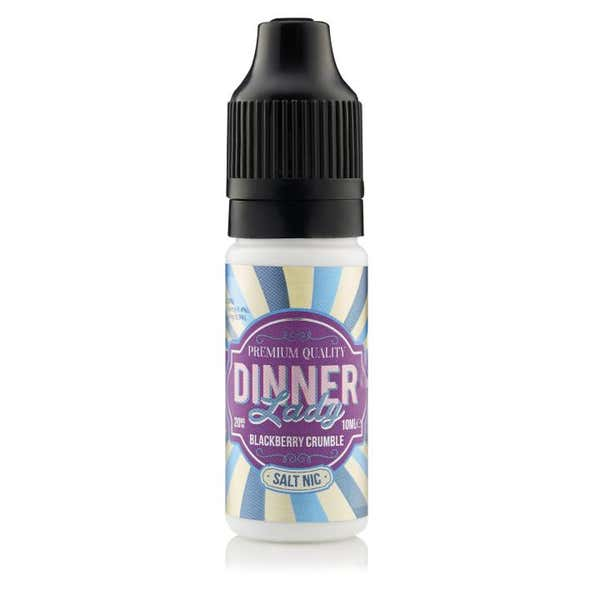 Blackberry Crumble Nicotine Salt by Dinner Lady