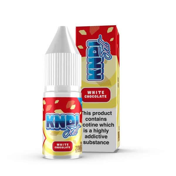 White Chocolate Nicotine Salt by KNDI