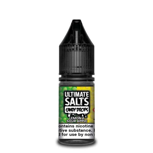 Candy Drops Lemon & Sour Apple Nicotine Salt by Ultimate Puff