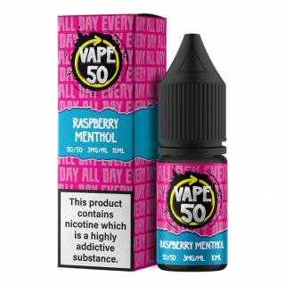 Vape 50 Raspberry Menthol Regular 10ml