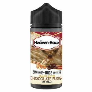 Heaven Haze Peanut Butter Chocolate Fudge Shortfill