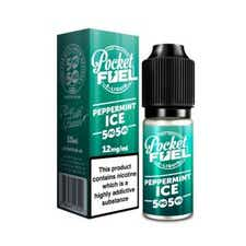 Peppermint Ice Regular 10ml by Pocket Fuel