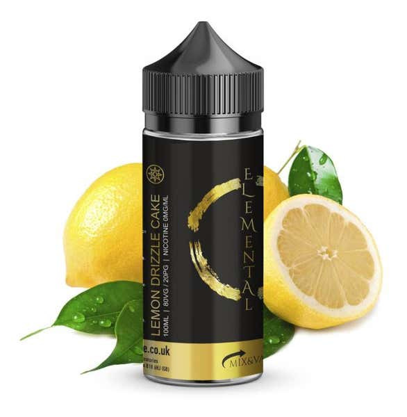 Lemon Drizzle Cake Shortfill by Elemental
