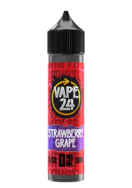 Fruits Strawberry Grape Shortfill by Vape 24