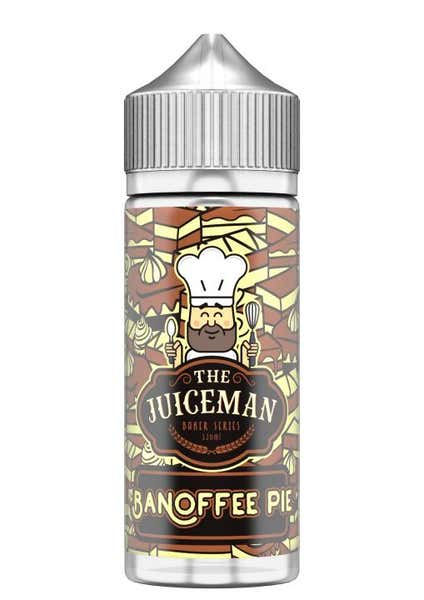 Banoffee Pie Shortfill by The Juiceman