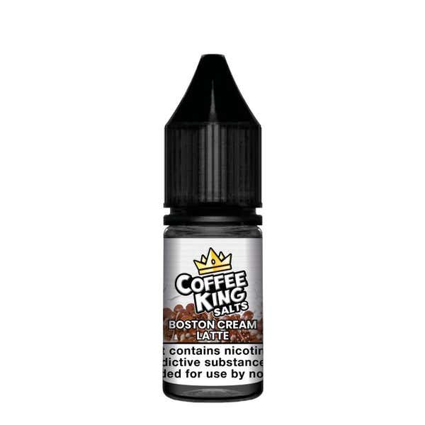 Boston Cream Latte Nicotine Salt by Coffee King