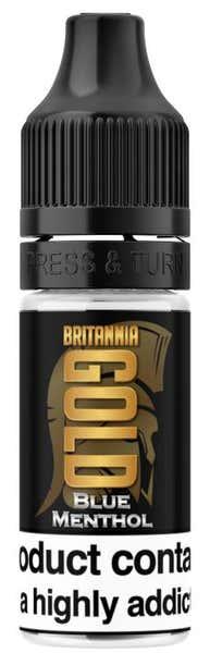 Blue Menthol Regular 10ml by Britannia Gold