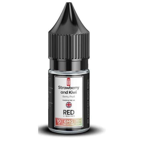 Strawberry & Kiwi Regular 10ml by RED Liquids