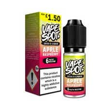 Raspberry & Apple Regular 10ml by Vape Spot