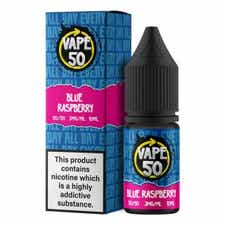 Blue Raspberry Regular 10ml by Vape 50