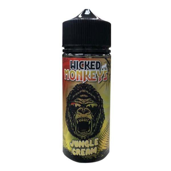 Jungle Cream Shortfill by Wicked Monkey