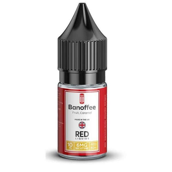Banoffee Regular 10ml by RED Liquids