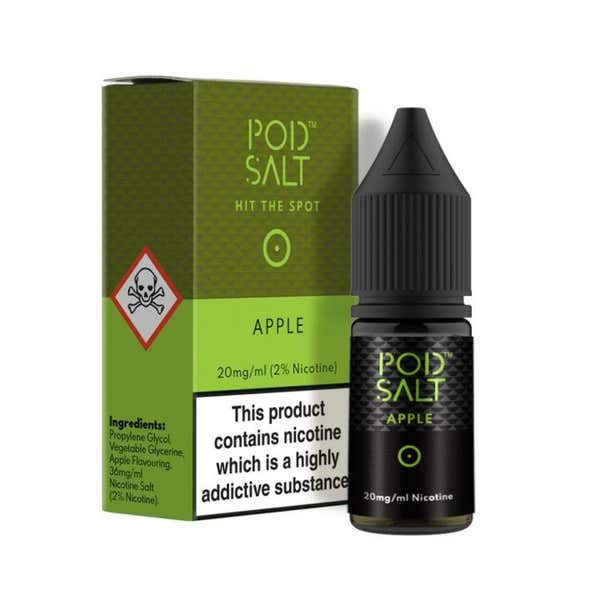 Apple Nicotine Salt by Pod Salt