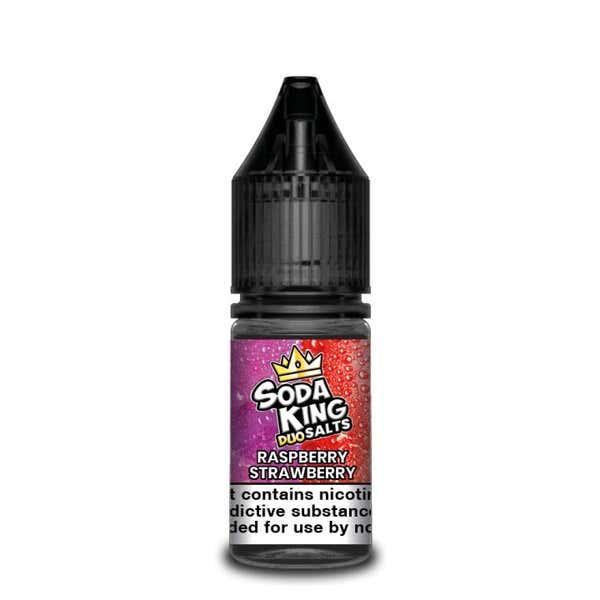 Duo Raspberry Strawberry Nicotine Salt by Soda King
