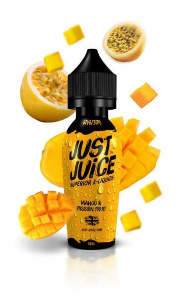 Mango & Passion Fruit Shortfill by Just Juice