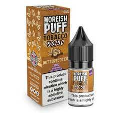Butterscotch Tobacco Regular 10ml by Moreish Puff