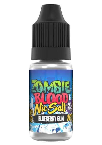 Blueberry Gum Nicotine Salt by Zombie Blood
