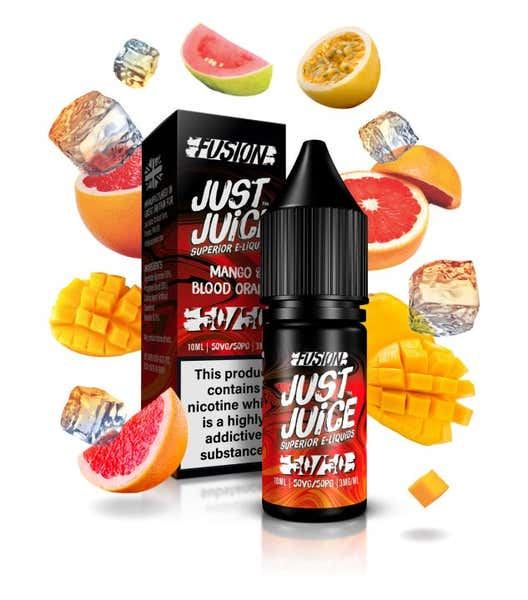 Blood Orange & Mango On Ice Regular 10ml by Just Juice