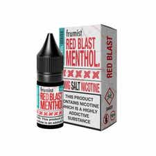Red Blast Menthol Nicotine Salt by Frumist