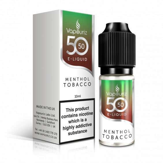 Menthol Tobacco Regular 10ml by Vapouriz