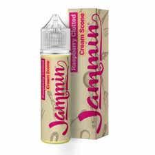 Raspberry Clotted Cream Scone Shortfill by Jammin