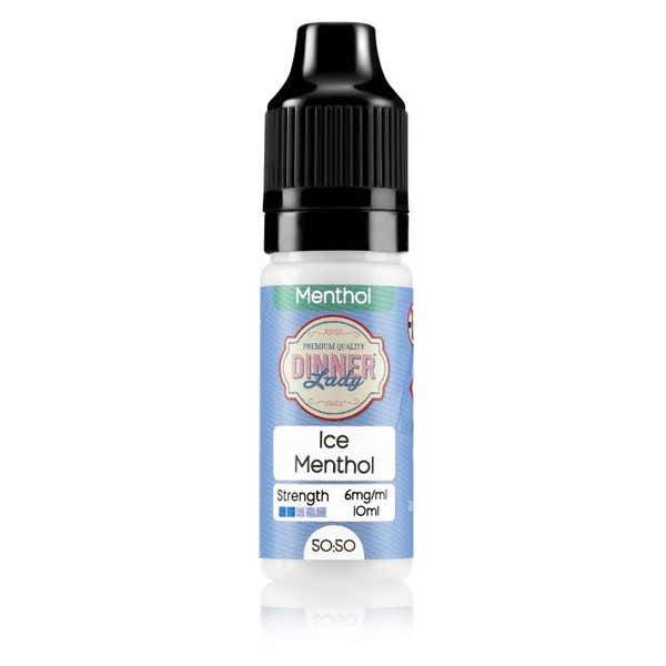 Ice Menthol Regular 10ml by Dinner Lady