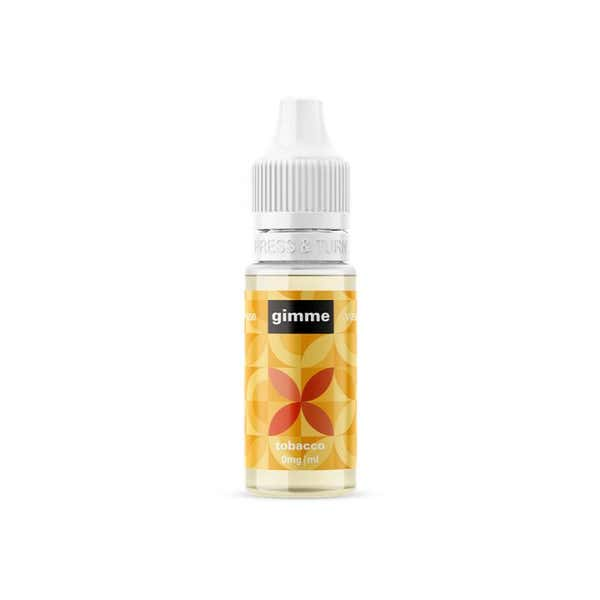 Tobacco & Caramel Regular 10ml by Gimme