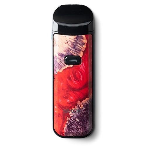 Red Stabilising WoodZinc Alloy NORD 2 Vape Device by SMOK