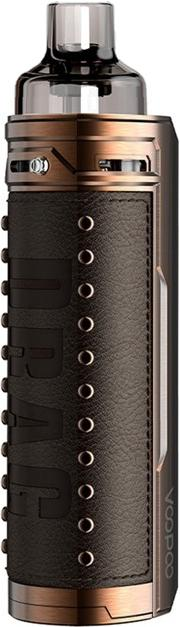 Bronze KnightAlloy & Leather Drag X Vape Device by VooPoo