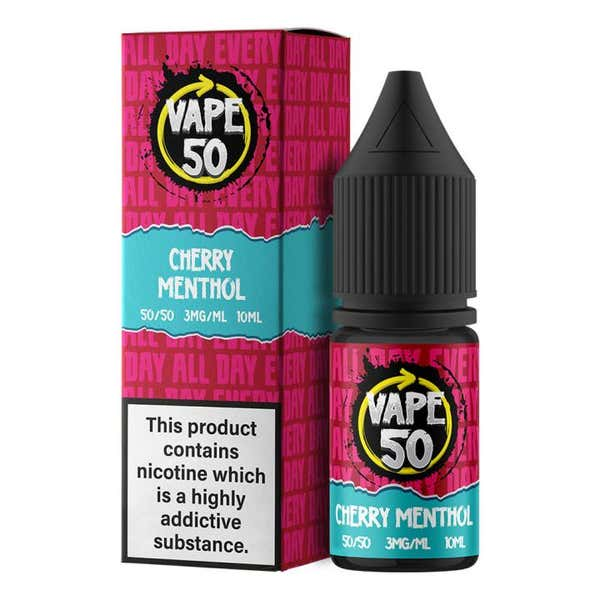 Cherry Menthol Regular 10ml by Vape 50