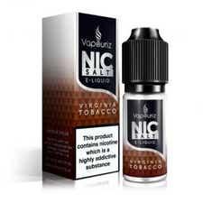 Virginia Tobacco Nicotine Salt by Vapouriz
