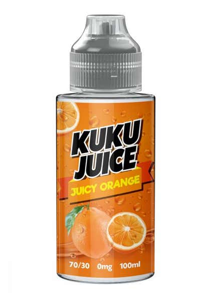 Juicy Orange Shortfill by Kuku
