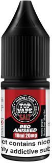 Top Vape Red Aniseed Nicotine Salt