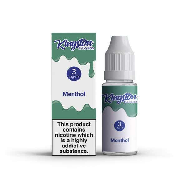 Menthol Regular 10ml by Kingston e-Liquids