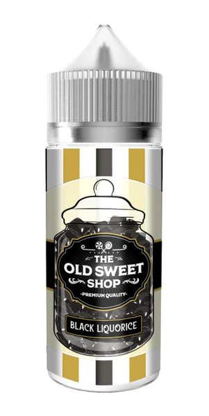 Black Liquorice Shortfill by The Old Sweet Shop