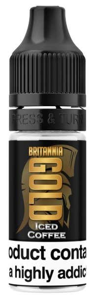 Iced Coffee Regular 10ml by Britannia Gold