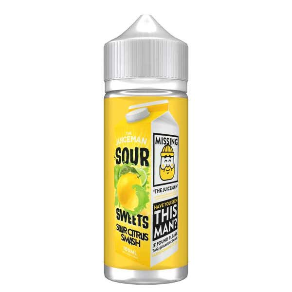 Sour Citrus Smash Shortfill by The Juiceman