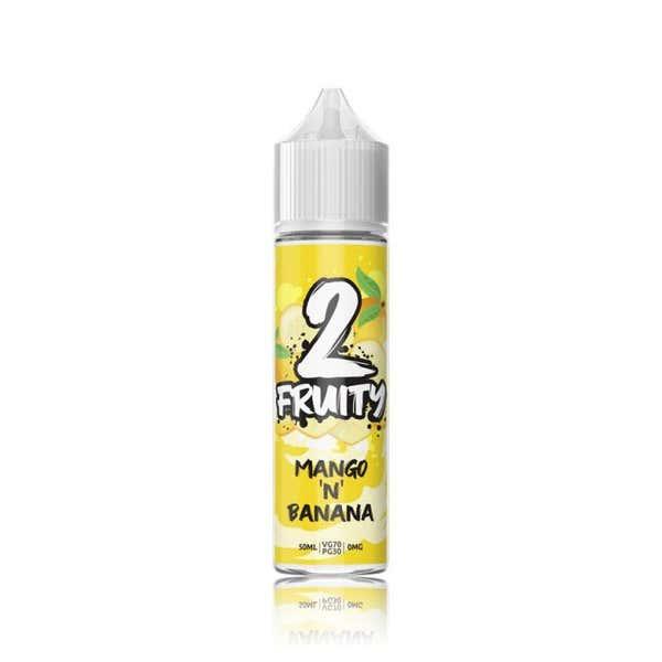 Mango N Banana Shortfill by 2 Fruity