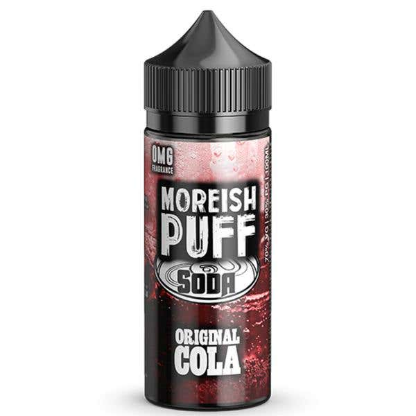 Original Cola Soda Shortfill by Moreish Puff
