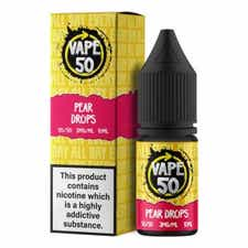Pear Drops Regular 10ml by Vape 50