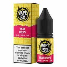 Pear Drops Regular 10ml by Vape 50
