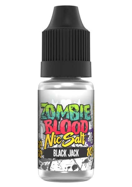 Black Jack Nicotine Salt by Zombie Blood