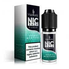 Double Menthol Nicotine Salt by Vapouriz