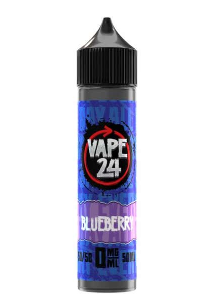 Blueberry Shortfill by Vape 24
