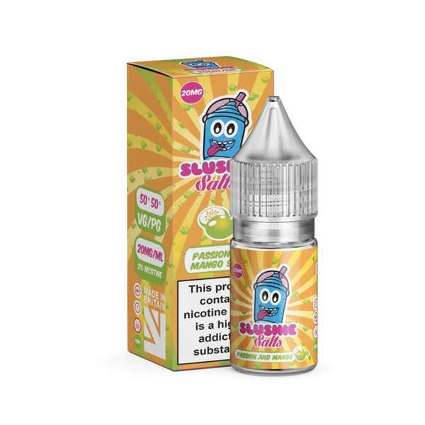 Passion & Mango Slush Nicotine Salt by Slushie