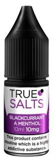 True Salts Blackcurrant A Menthol Nicotine Salt